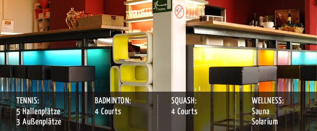 jahnhaus idar oberstein tennis squash badminton bistro. Black Bedroom Furniture Sets. Home Design Ideas